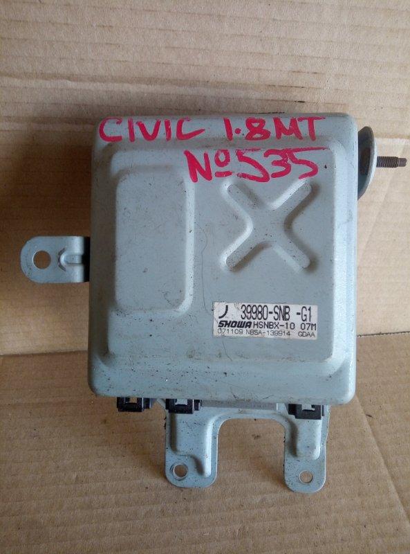 Блок управления эур Honda Civic 1.8 (б/у)