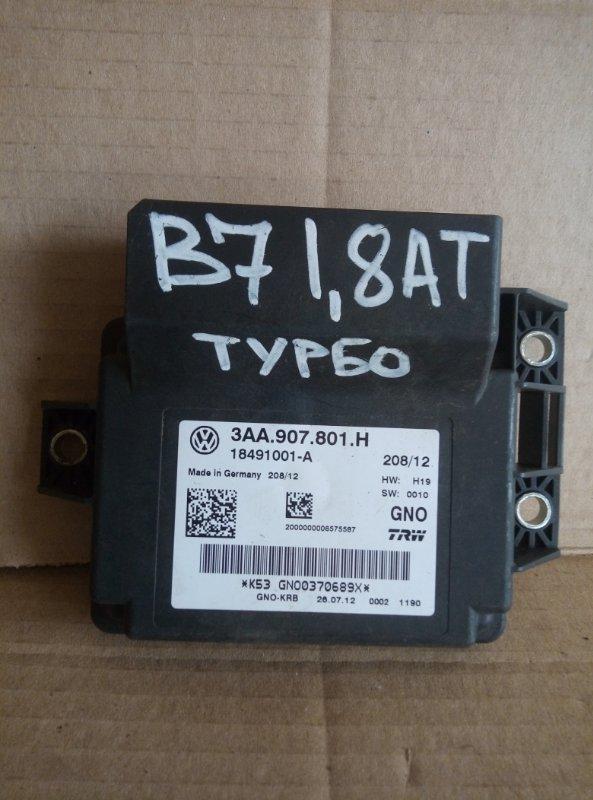 Блок управления стояночным тормозом Volkswagen Passat B7 2012 (б/у)