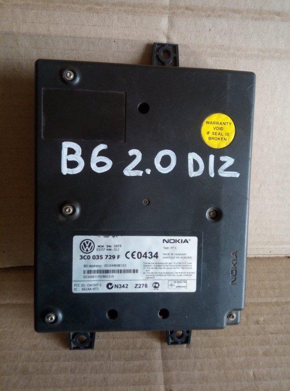 Блок управления телефоном Volkswagen Passat B6 2007 (б/у)