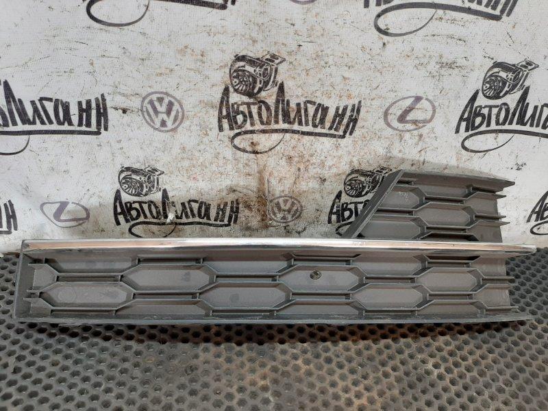 Решетка радиатора Skoda Octavia A7 передняя правая (б/у)