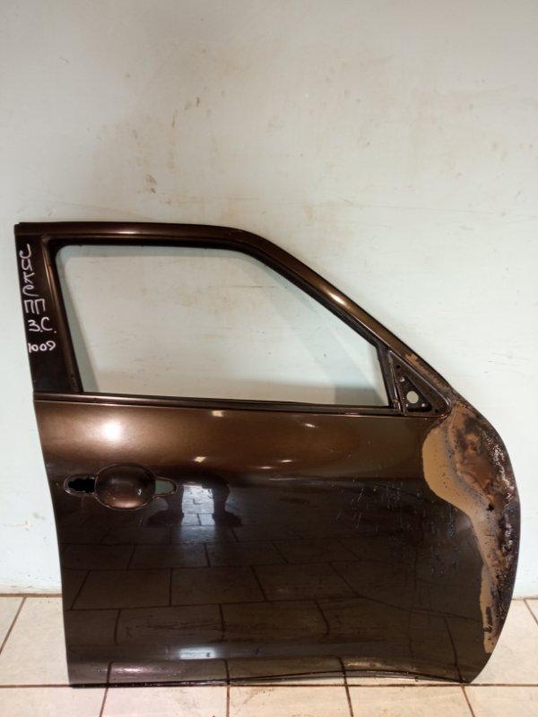 Дверь Nissan Juke HR16 2011 передняя правая (б/у)