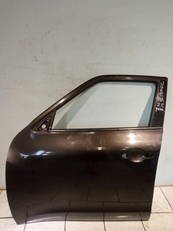 Дверь Nissan Juke HR16 2011 передняя левая (б/у)