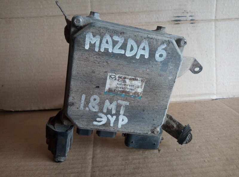 Блок управления эур Mazda 6 Gh (б/у)