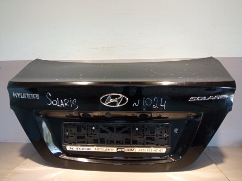 Крышка багажника Hyundai Solaris СЕДАН G4FC 2011 (б/у)