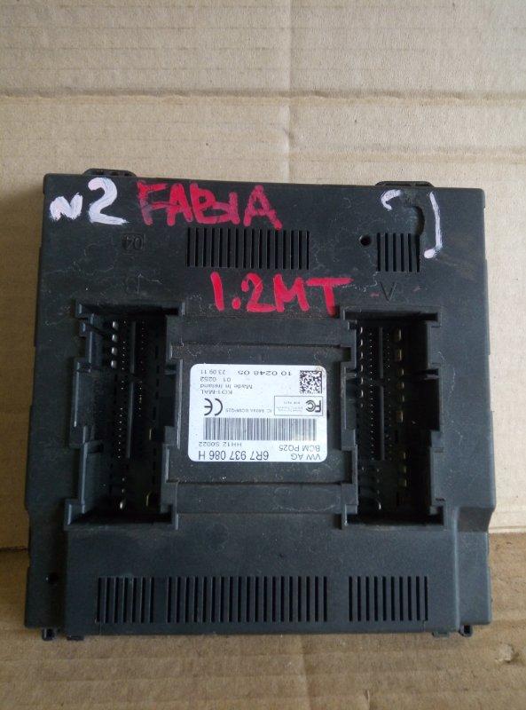 Блок комфорта Skoda Fabia 1.2 2011 (б/у)