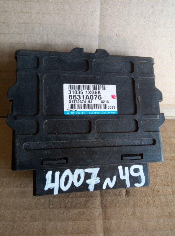 Блок управления акпп Peugeot 4007 (б/у)