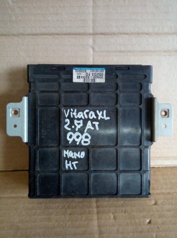 Блок управления двигателем Suzuki Grand Vitara Xl7 2.7 (б/у)