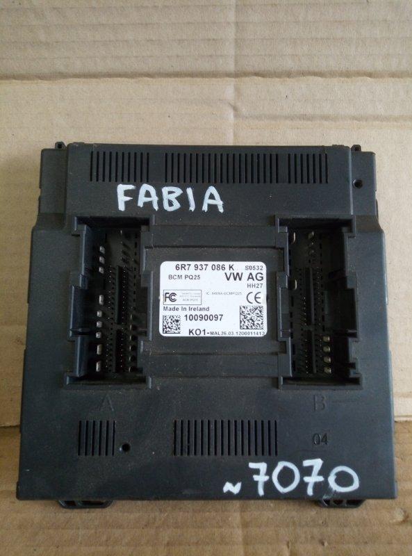 Блок комфорта Skoda Fabia 2012 (б/у)