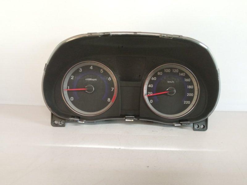 Щиток приборов Hyundai Solaris СЕДАН G4FC 2011 (б/у)
