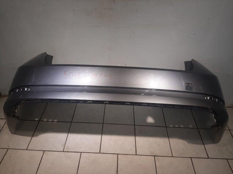 Бампер Skoda Octavia A7 задний (б/у)