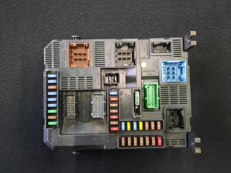 Блок предохранителей Citroen C-Elysee 2013 (б/у)