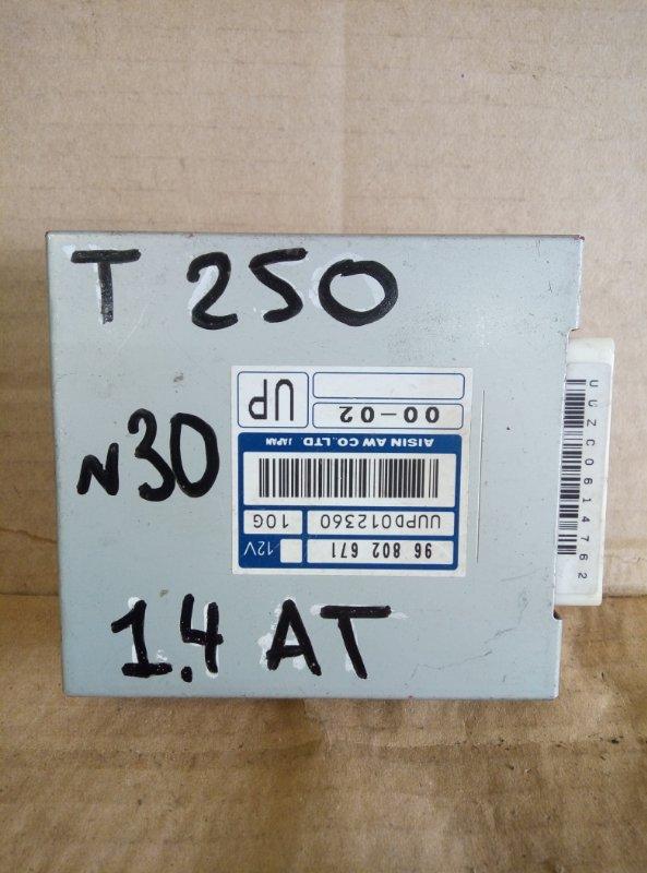 Блок управления акпп Chevrolet Aveo T 250 (б/у)