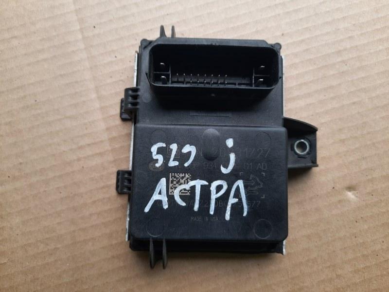 Блок управления топливным насосом Opel Astra J 2010 (б/у)