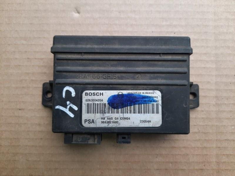 Блок управления парктроником Citroen C4 (б/у)