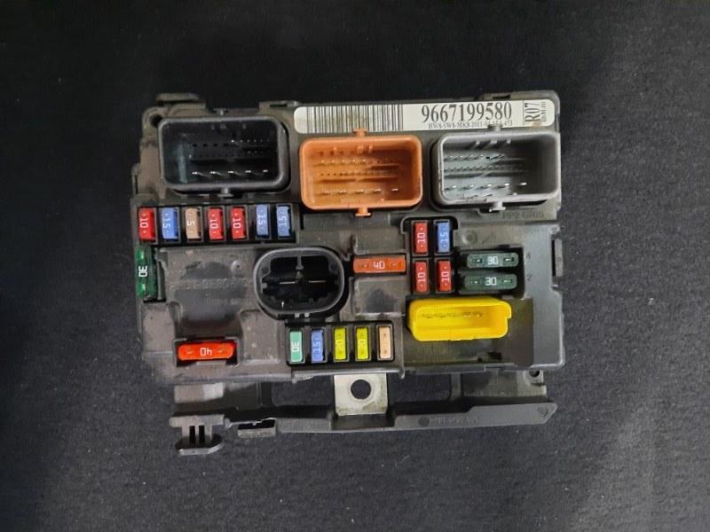 Блок предохранителей Citroen C3 (б/у)