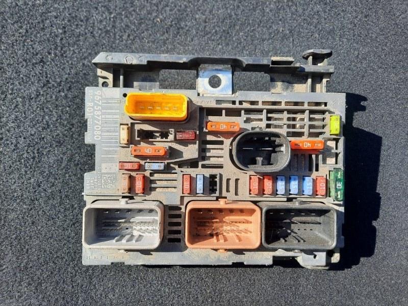 Блок предохранителей Citroen Picasso (б/у)