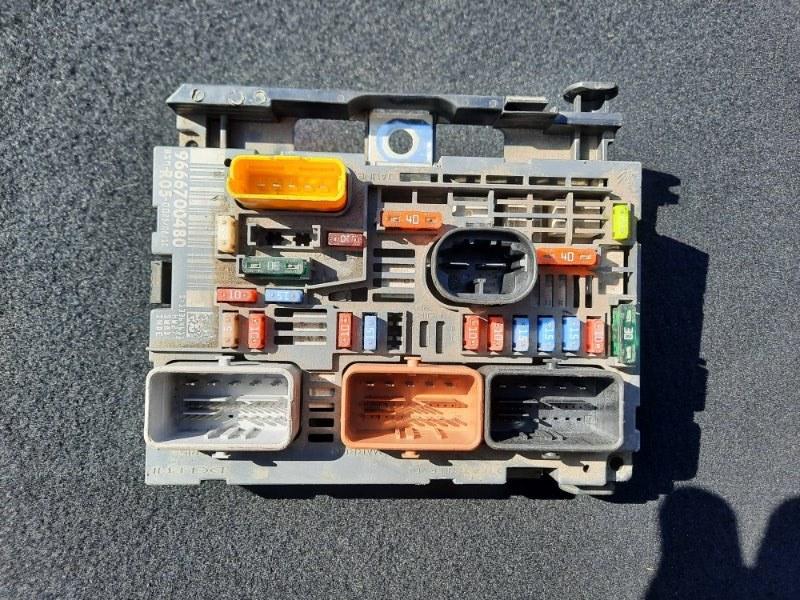Блок предохранителей Citroen C4 (б/у)