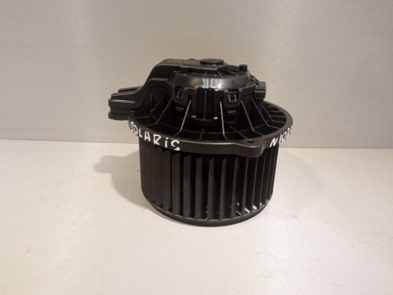 Моторчик печки Hyundai Solaris СЕДАН G4FC 2011 (б/у)