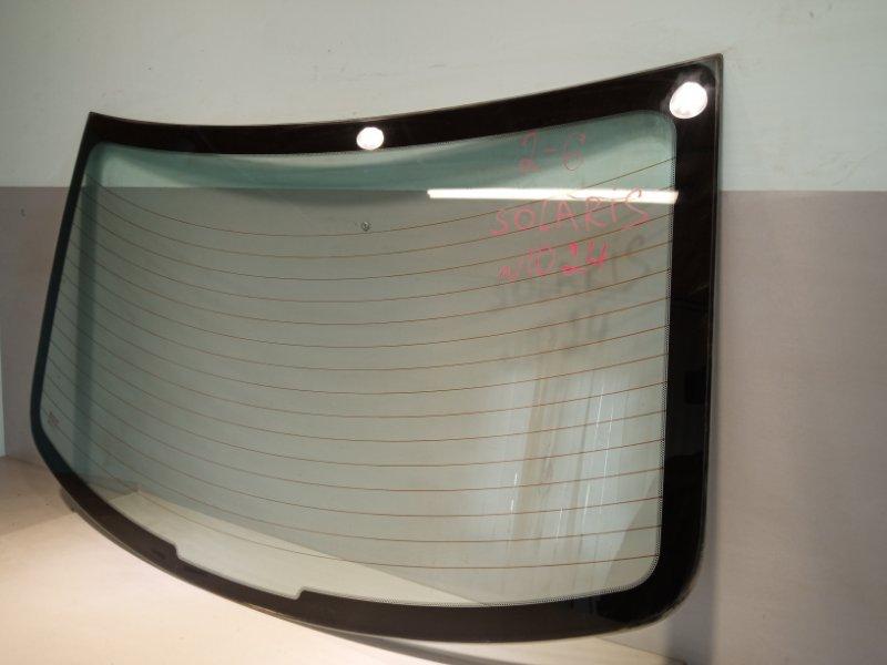 Стекло Hyundai Solaris СЕДАН G4FC 2011 заднее (б/у)