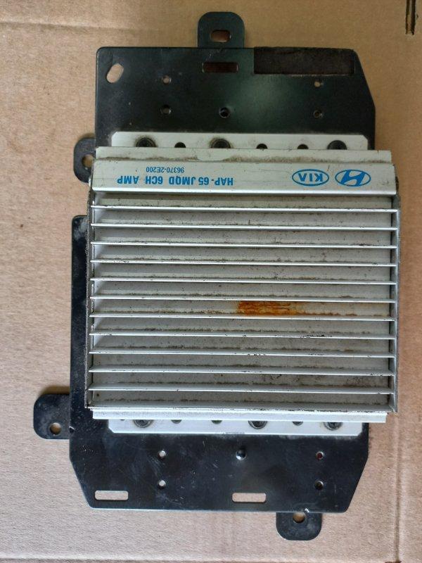 Усилитель звуковой частоты Hyundai Tucson (б/у)