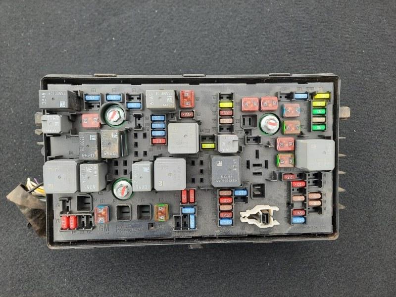 Блок предохранителей Chevrolet Cruze (б/у)
