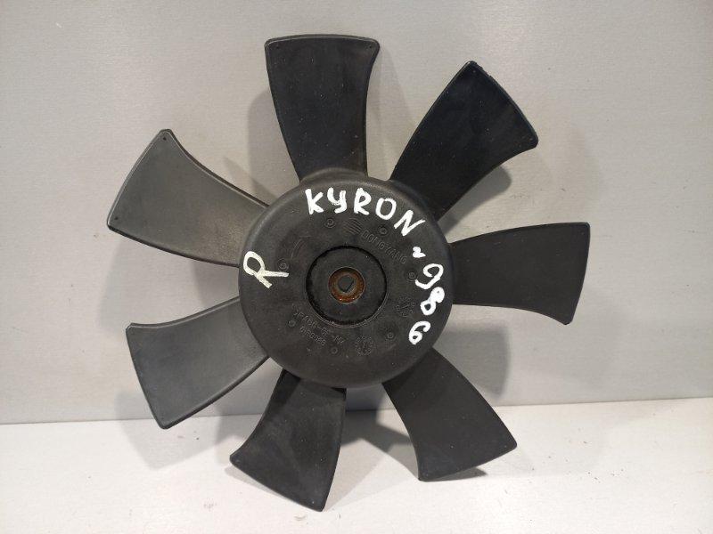 Крыльчатка вентилятора Ssang Yong Kyron D20DT 2011 передняя правая (б/у)
