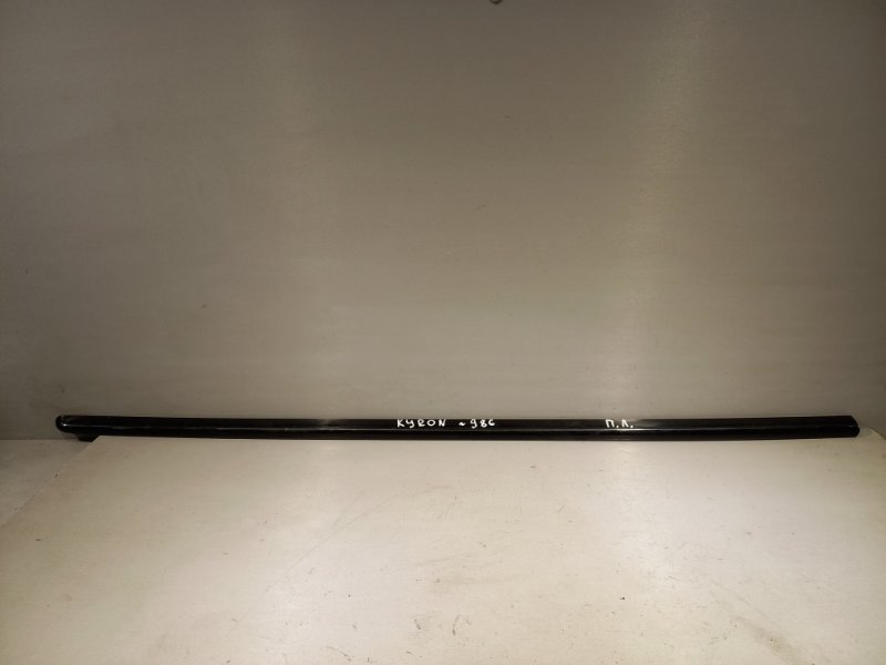 Молдинг на дверь Ssang Yong Kyron D20DT 2011 передний левый (б/у)