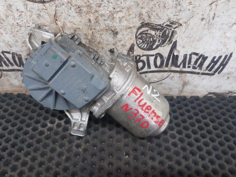 Мотор дворников Renault Fluence передний (б/у)