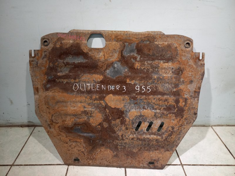 Защита двигателя Mitsubishi Outlander 3 4B11 2013 (б/у)