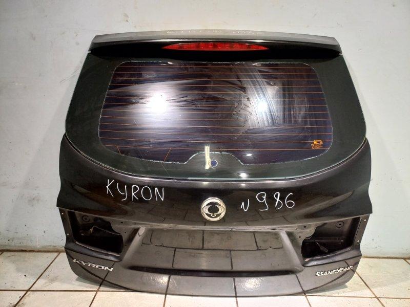 Крышка багажника Ssang Yong Kyron D20DT 2011 (б/у)