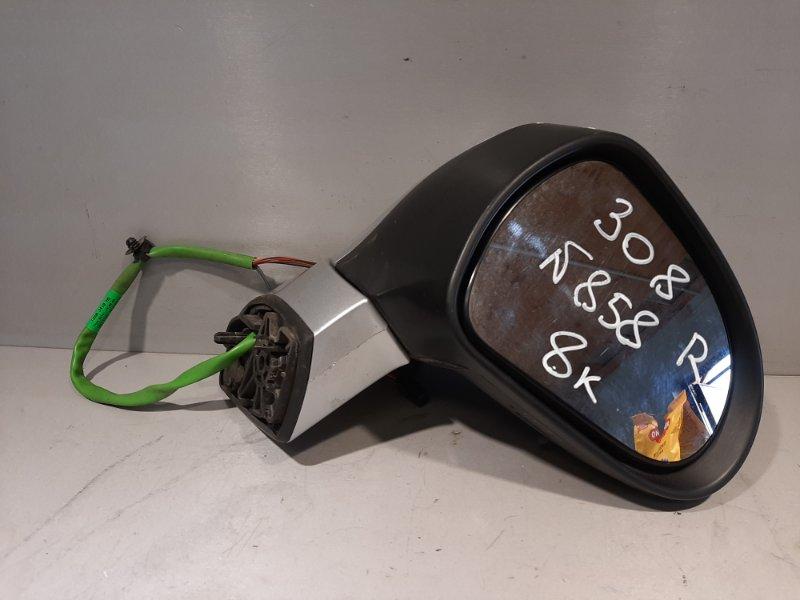 Зеркало Peugeot 308 EP6 2009 переднее правое (б/у)