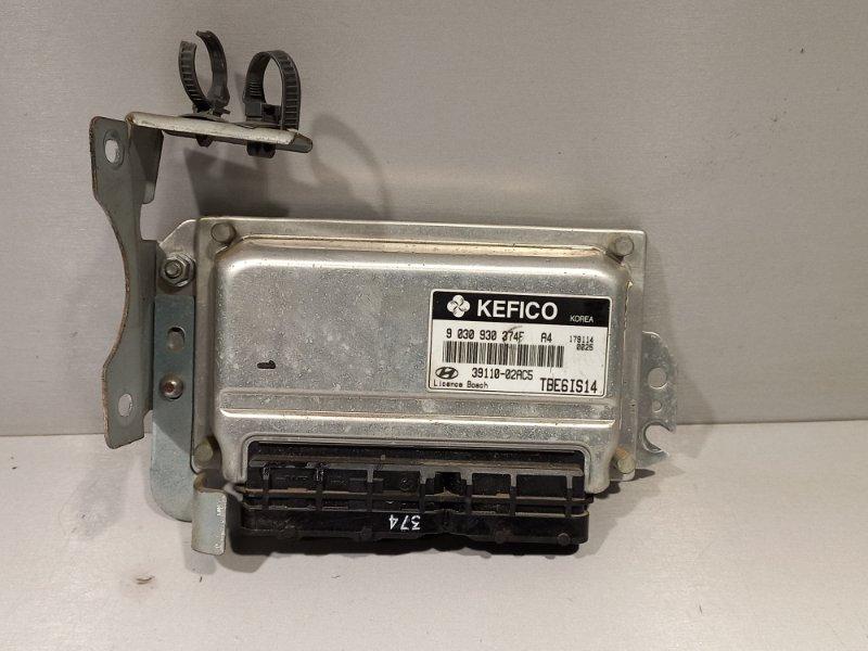 Блок управления двигателем Hyundai Getz G4HG 2007 (б/у)