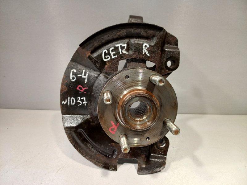 Кулак (цапфа) Hyundai Getz G4HG 2007 передний правый (б/у)