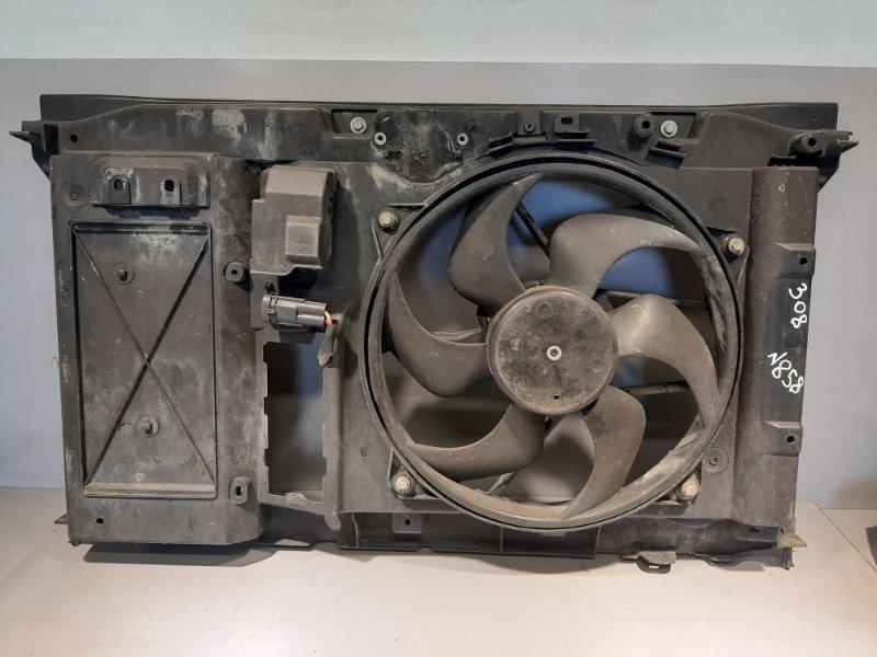 Диффузор Peugeot 308 EP6 2009 (б/у)