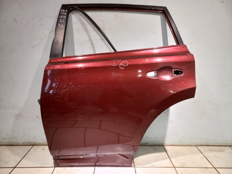 Дверь Toyota Rav 4 Ca 40 2AR-FE 2016 задняя левая (б/у)
