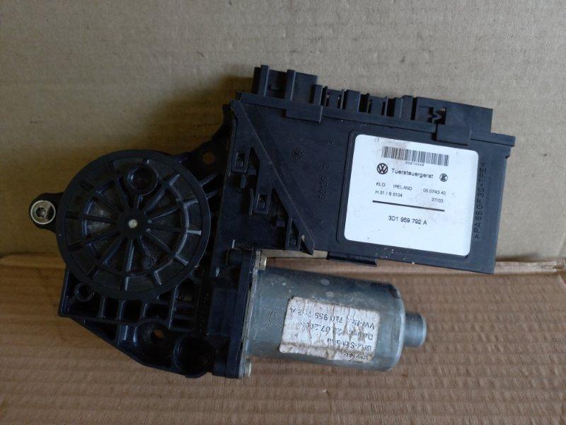 Мотор стеклоподъемника Volkswagen Touareg передний правый (б/у)