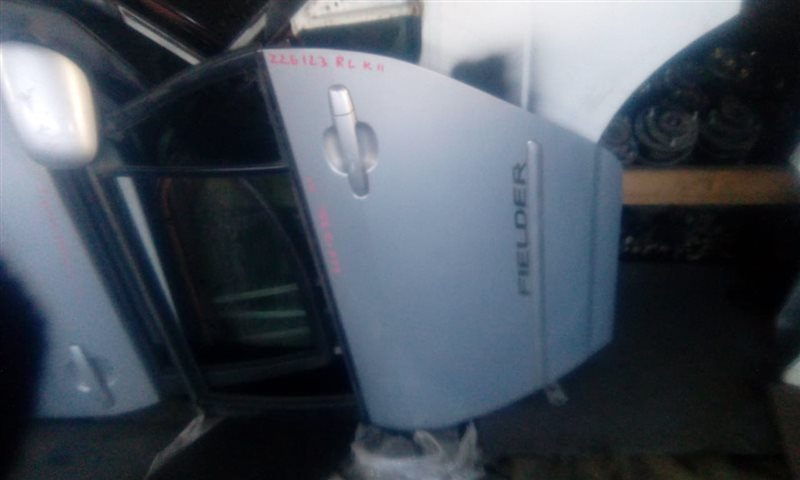 Дверь Toyota Corolla Fielder ZZE123 2ZZ задняя левая (б/у)