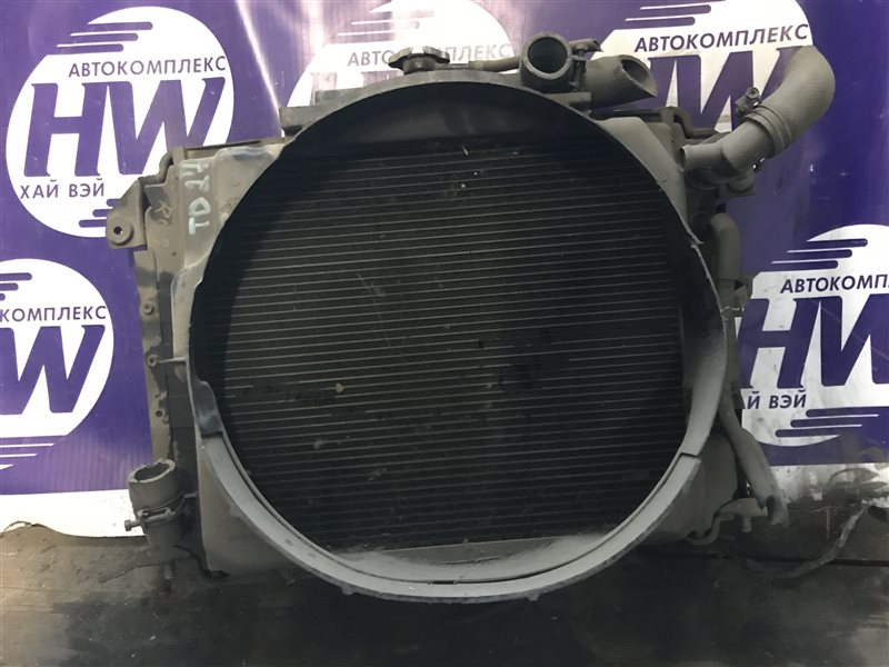 Радиатор Nissan Caravan KRE24 TD27 (б/у)