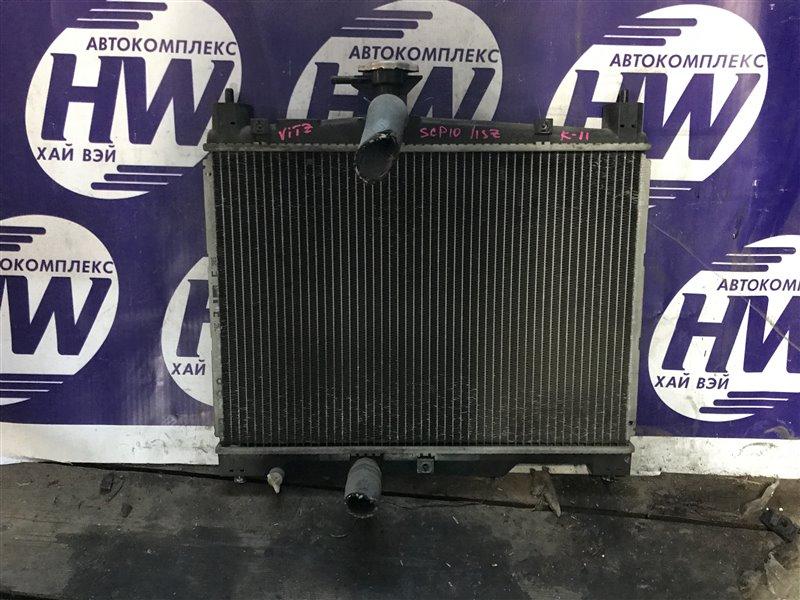 Радиатор Toyota Vitz SCP10 1SZ 2000 (б/у)