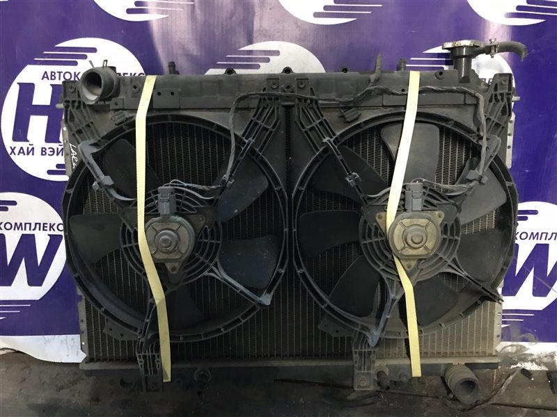 Радиатор Nissan Largo W30 KA24 9 (б/у)