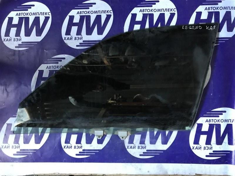 Стекло Honda Legend KA9 C35A 1999 переднее левое (б/у)
