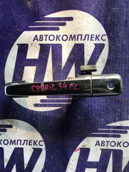 Ручка двери внешняя Nissan Cedric MY34 передняя левая (б/у)