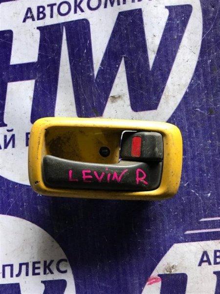 Ручка двери внутренняя Toyota Corolla Levin AE110 передняя правая (б/у)