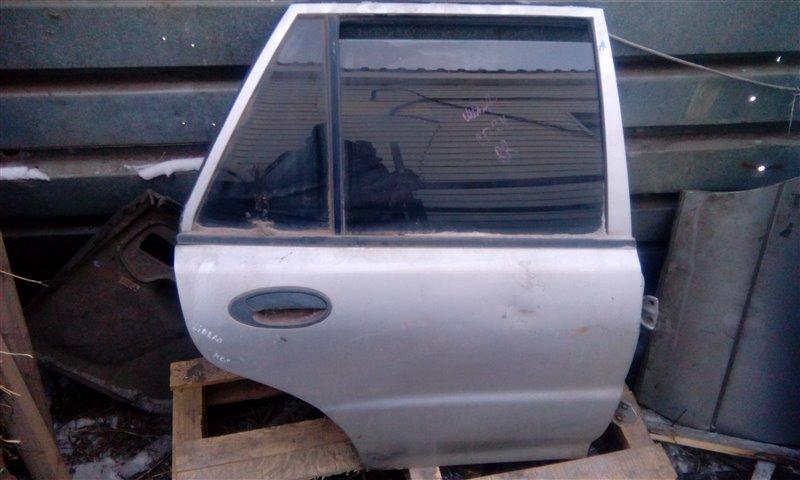 Дверь Mitsubishi Libero CB1V/CD2V задняя правая (б/у)