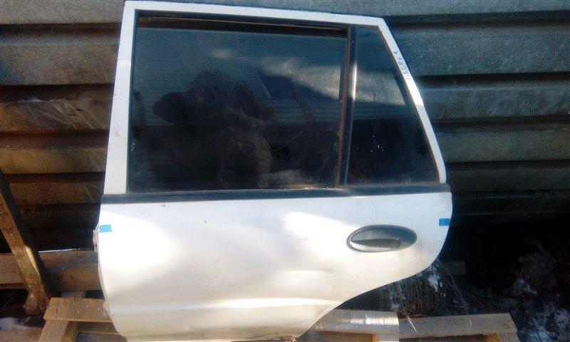 Дверь Mitsubishi Libero CB1A 4G13 задняя левая (б/у)