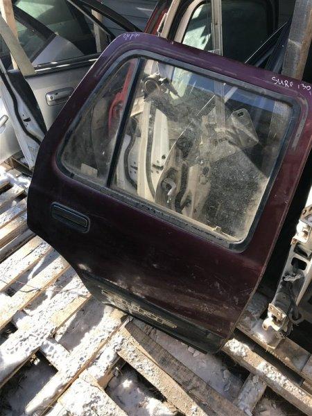 Дверь Toyota Surf LN130 задняя правая (б/у)