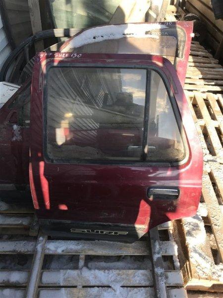 Дверь Toyota Surf LN130 задняя левая (б/у)