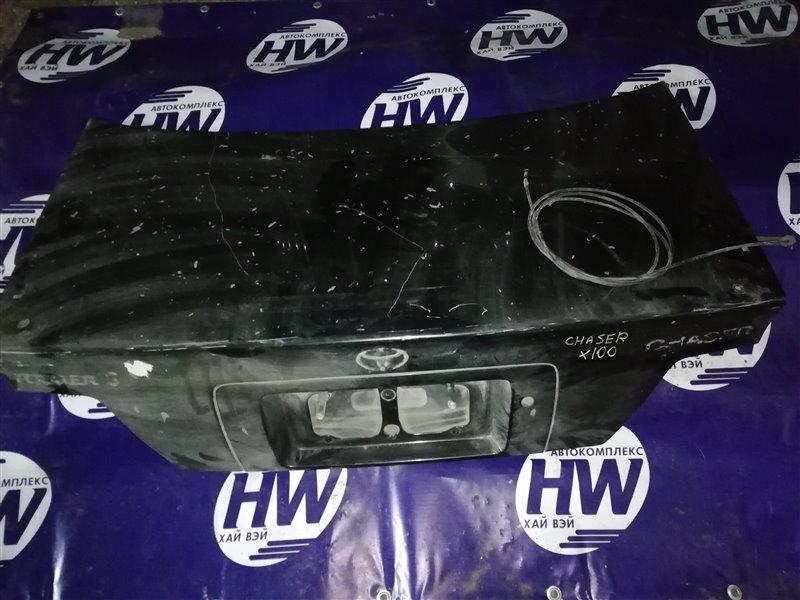 Крышка багажника Toyota Chaser JZX100 1JZ (б/у)