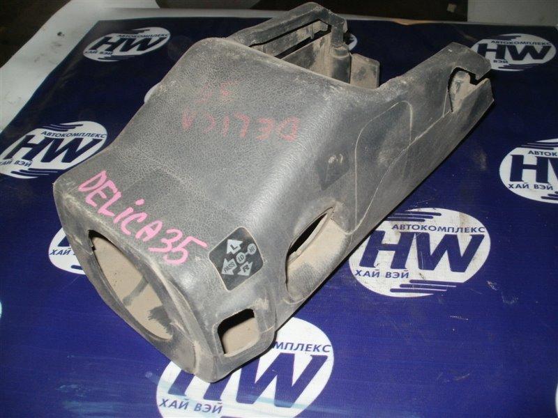 Кожух рулевой колонки Mitsubishi Delica P35W 4D56 (б/у)