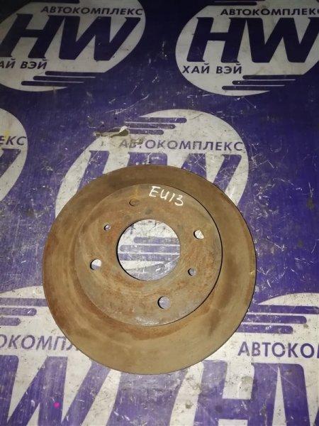 Диск тормозной Nissan Bluebird EU13 SR20 задний (б/у)